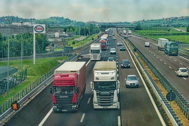 Firma w branży transportowej